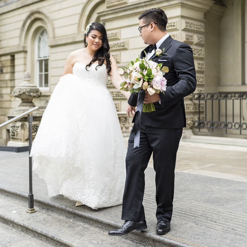 Nhi and Ricky - Arcadian Court Wedding
