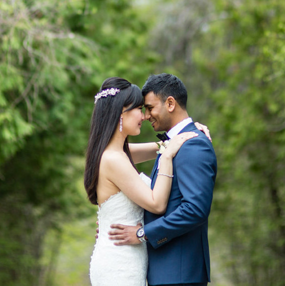 Shirley and Yolan - Hazelton Manor wedding