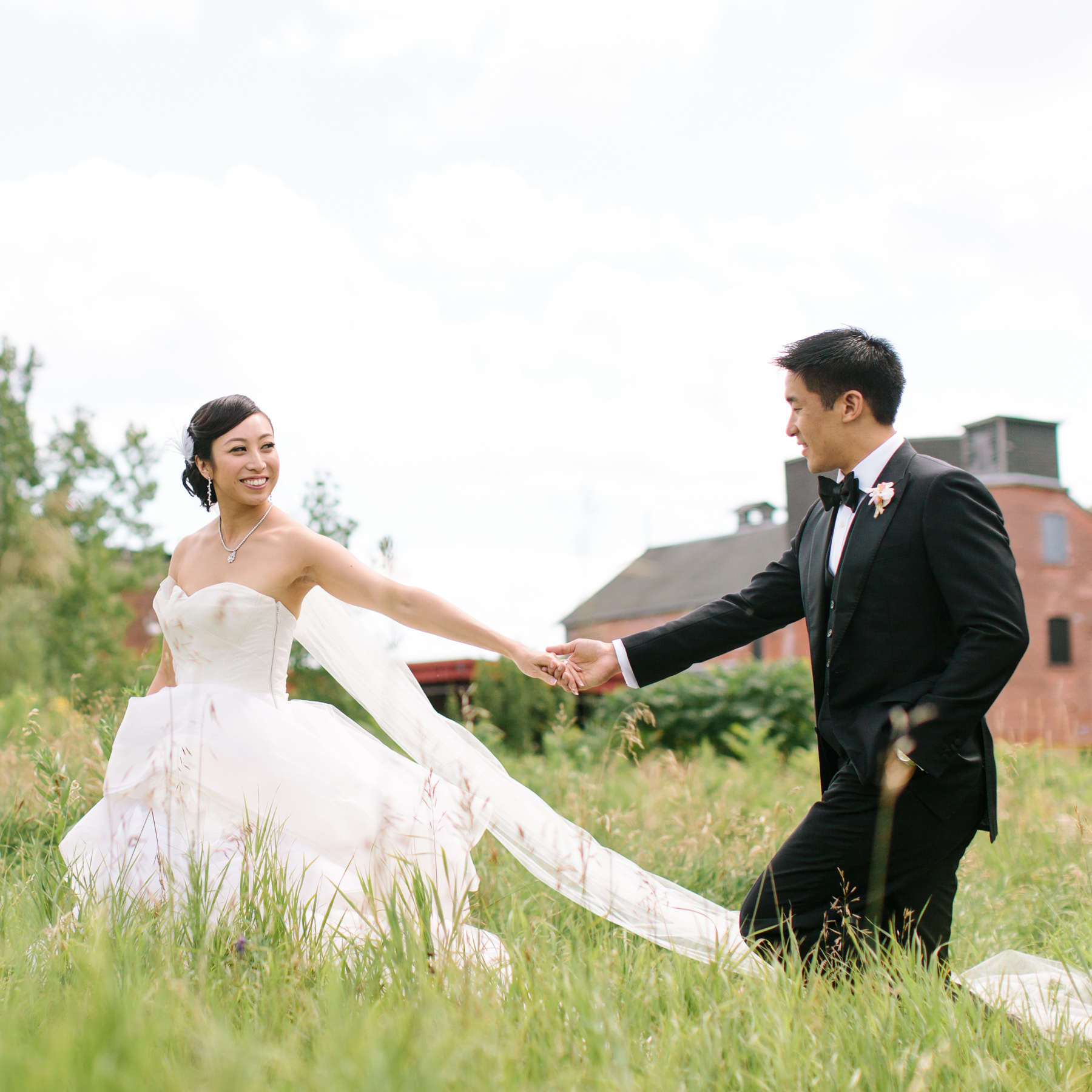 Victoria + Anthony - Evergreen Brickworks wedding