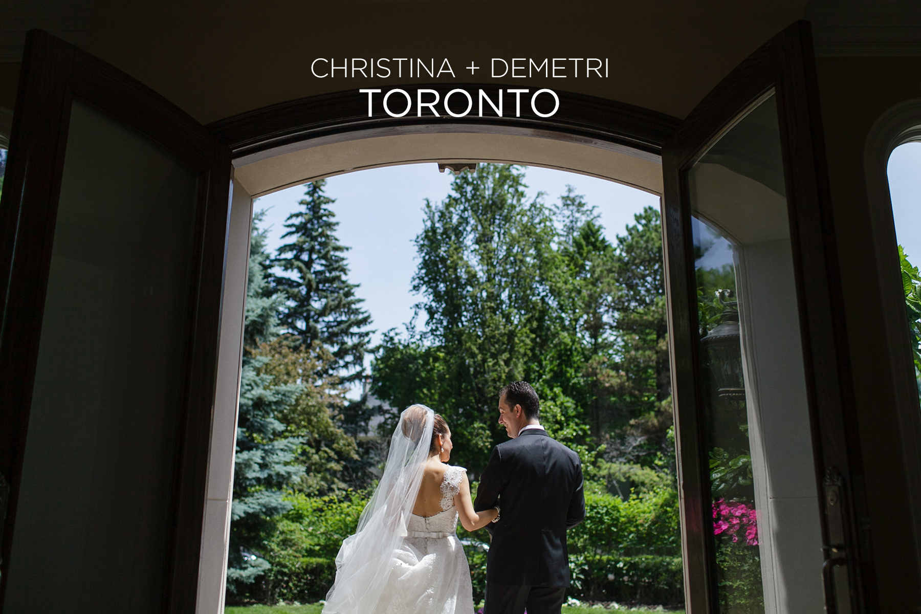 Christina + Demetri / Liberty Grand Wedding