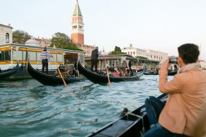 Gondola ride on Grand Canal