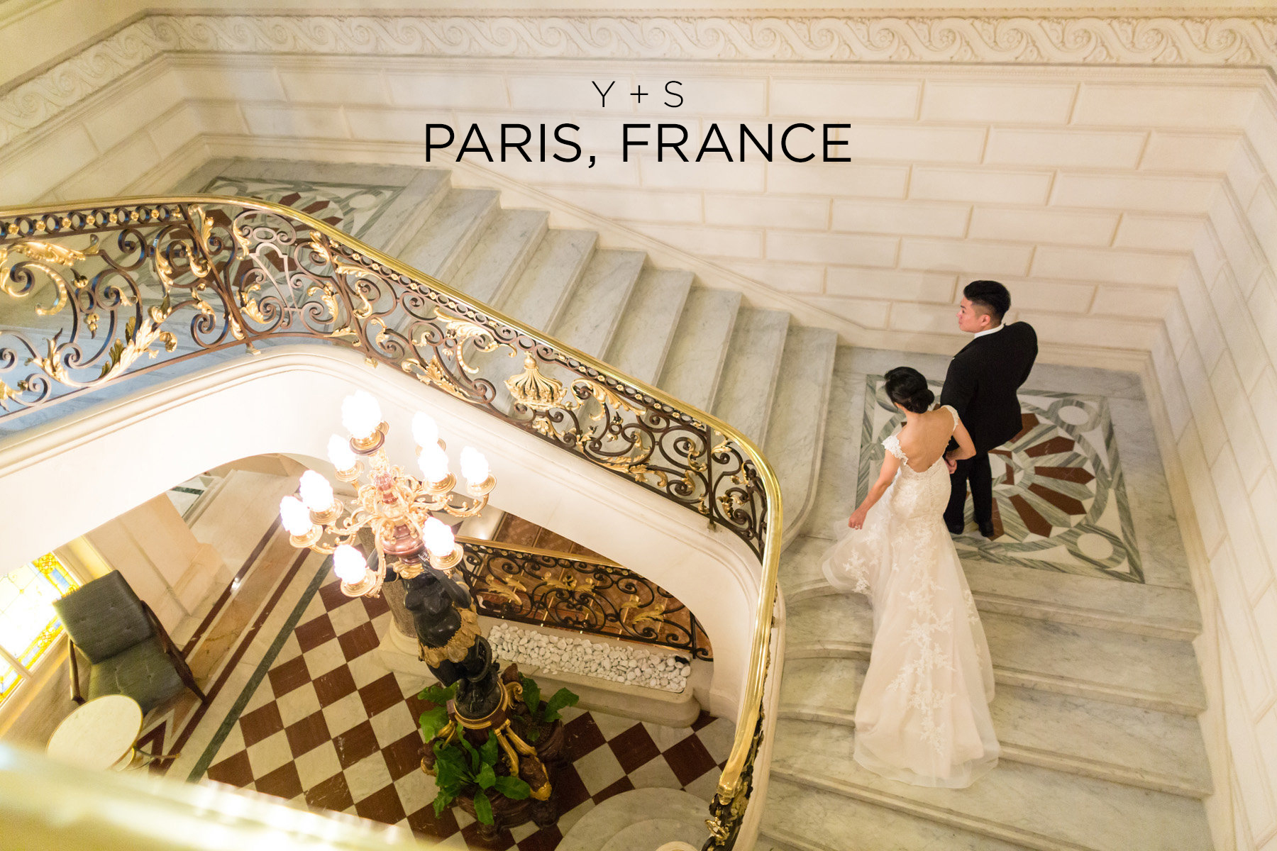 Y & S Paris Wedding at Shangri-La Hotel
