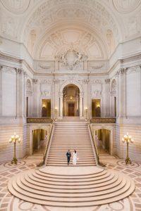 Intimate San Francisco City Hall Wedding