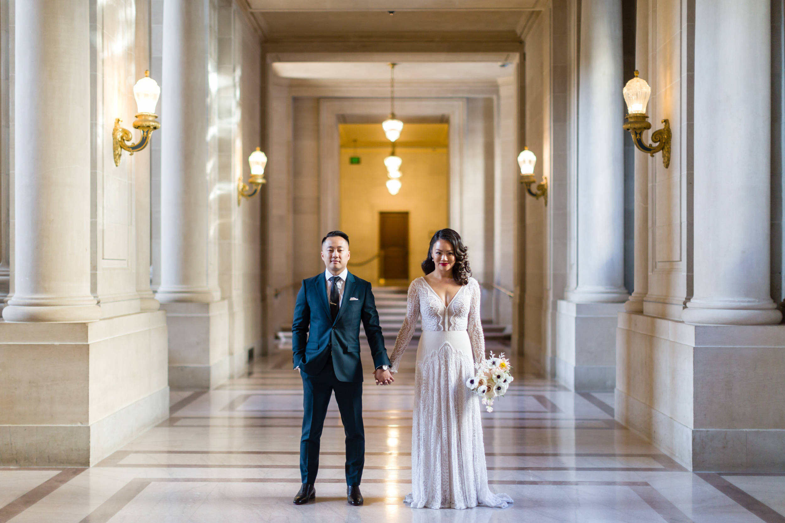 Intimate San Francisco City Hall Wedding